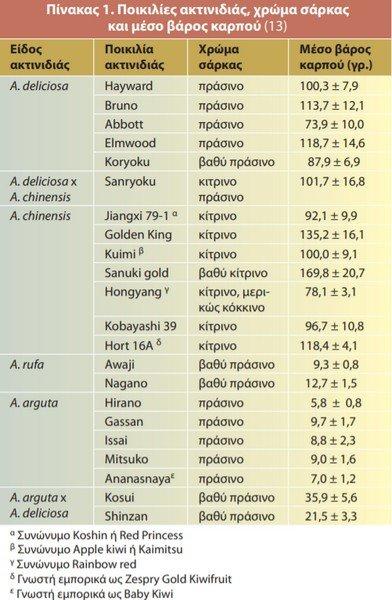 Pikilies Aktinidias