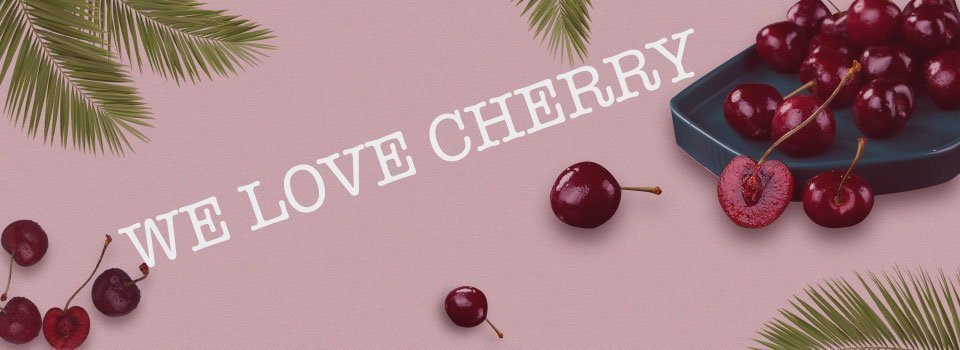 We-Love-Cherry-Banner