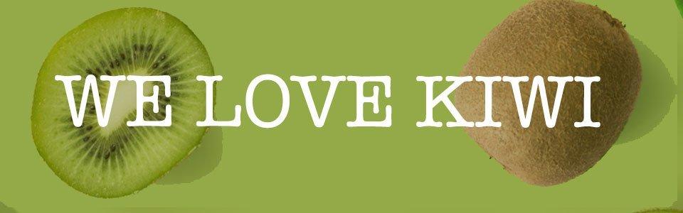 We Love Kiwi Banner