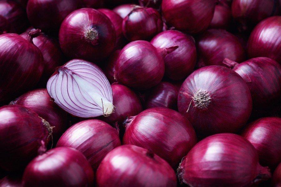 Κόκκινα Ξερά Κρεμμύδια