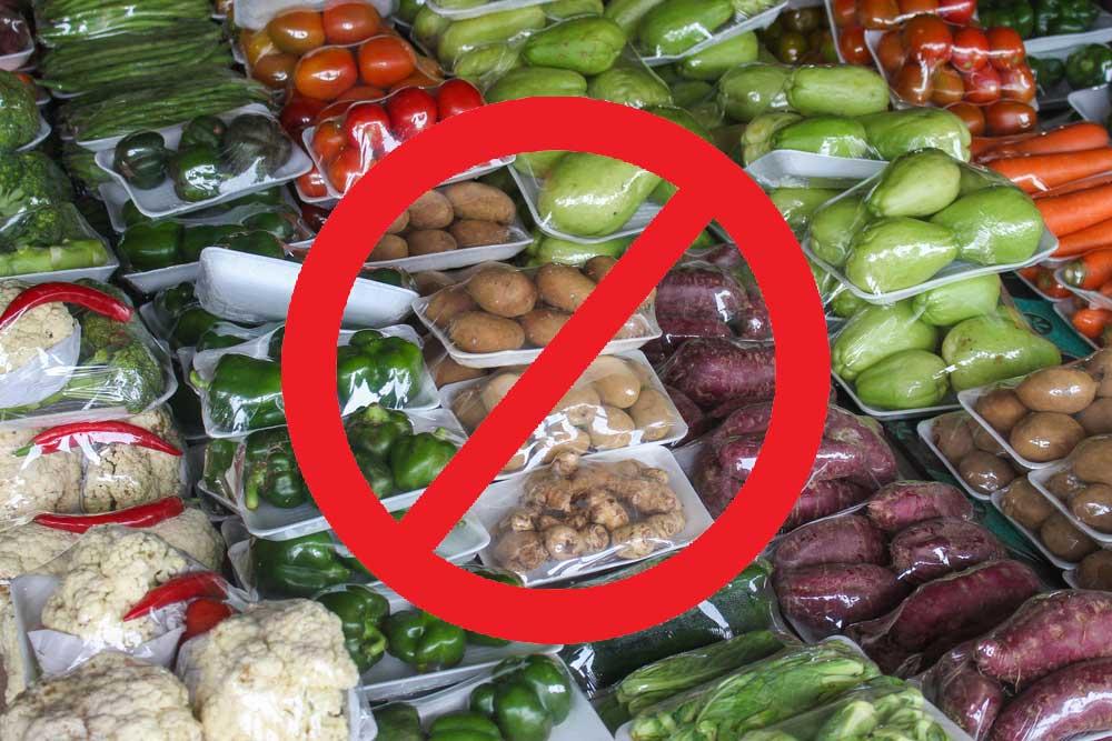 Greenpeace Πιέζει να Πλαστικοποιούν Τρόφιμα
